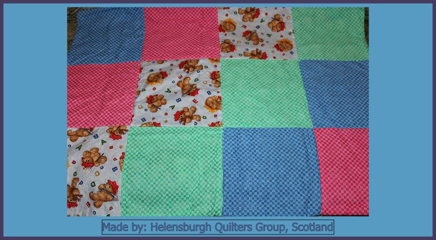 Helensburgh Quilters Group Made