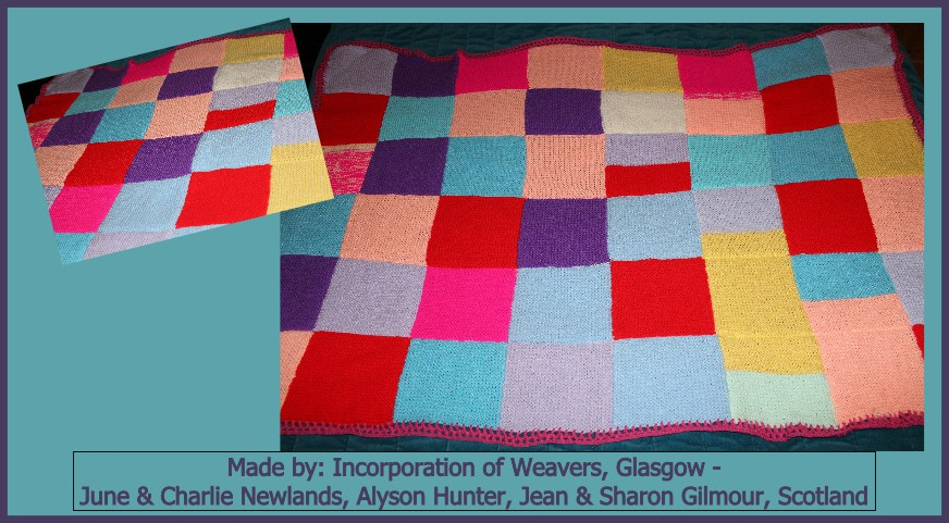 Incorporation of Weavers Glasgow - June  Charlie Newlands Alyson Hunter Jean  Sharon Gilmour Made