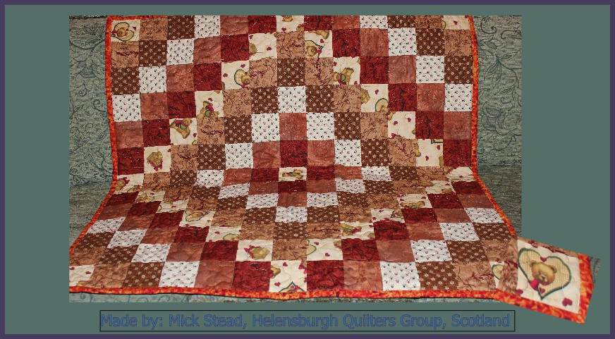 Mick Stead Helensburgh Quilters Group Made