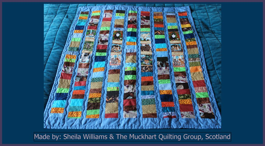 Sheila Williams  The Muckhart Quilting Group Made