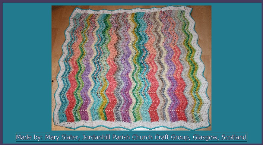 Mary Slater Jordanhill Parish Church Craft Group Made