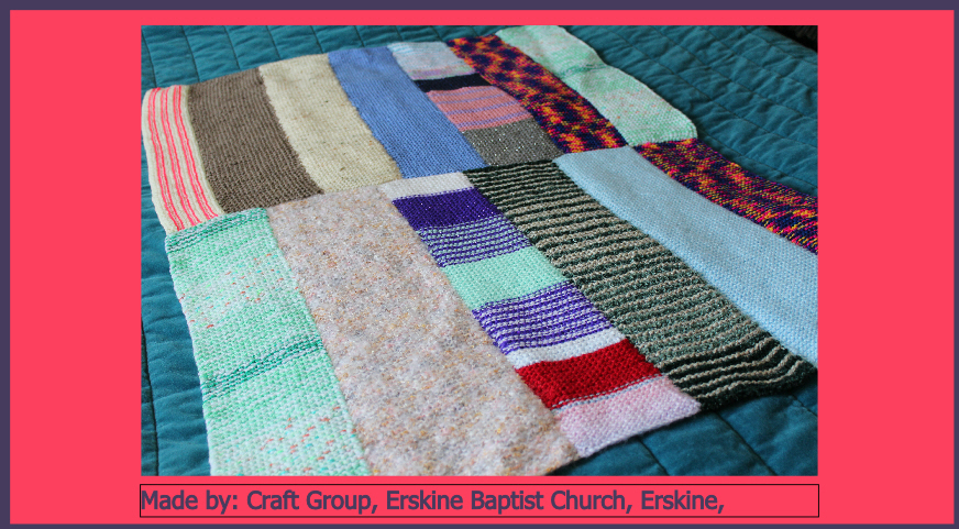 Craft Group Erskine Baptist Church Erskine Made
