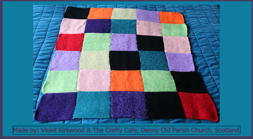 Violet Kirkwood The Crafty Cafe Denny Old Parish Church Made