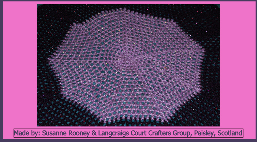 Susanne Rooney Langcraigs Court Crafters Group Paisley Made